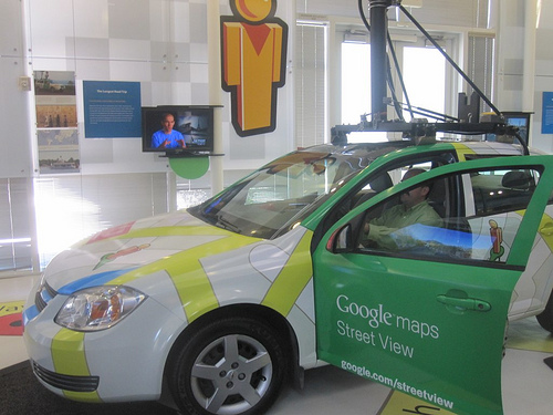 Google Car at the Computer History Museum