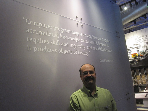 Knuth Quote at the Computer History Museum